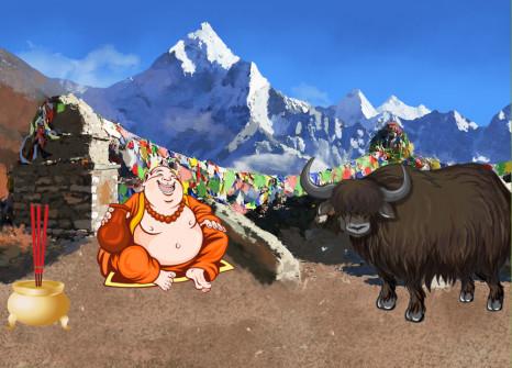 ¡Evádete en Nepal con tus compañeros!