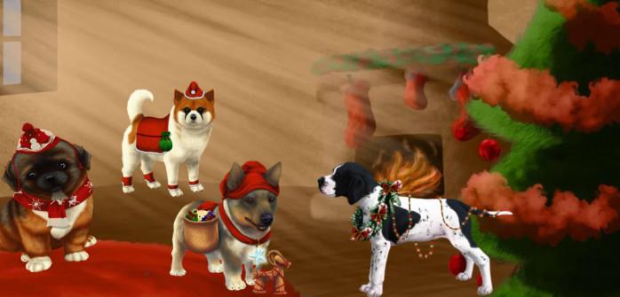¡Pon a tus perros en el ambiente de Navidad con mantos exclusivos!